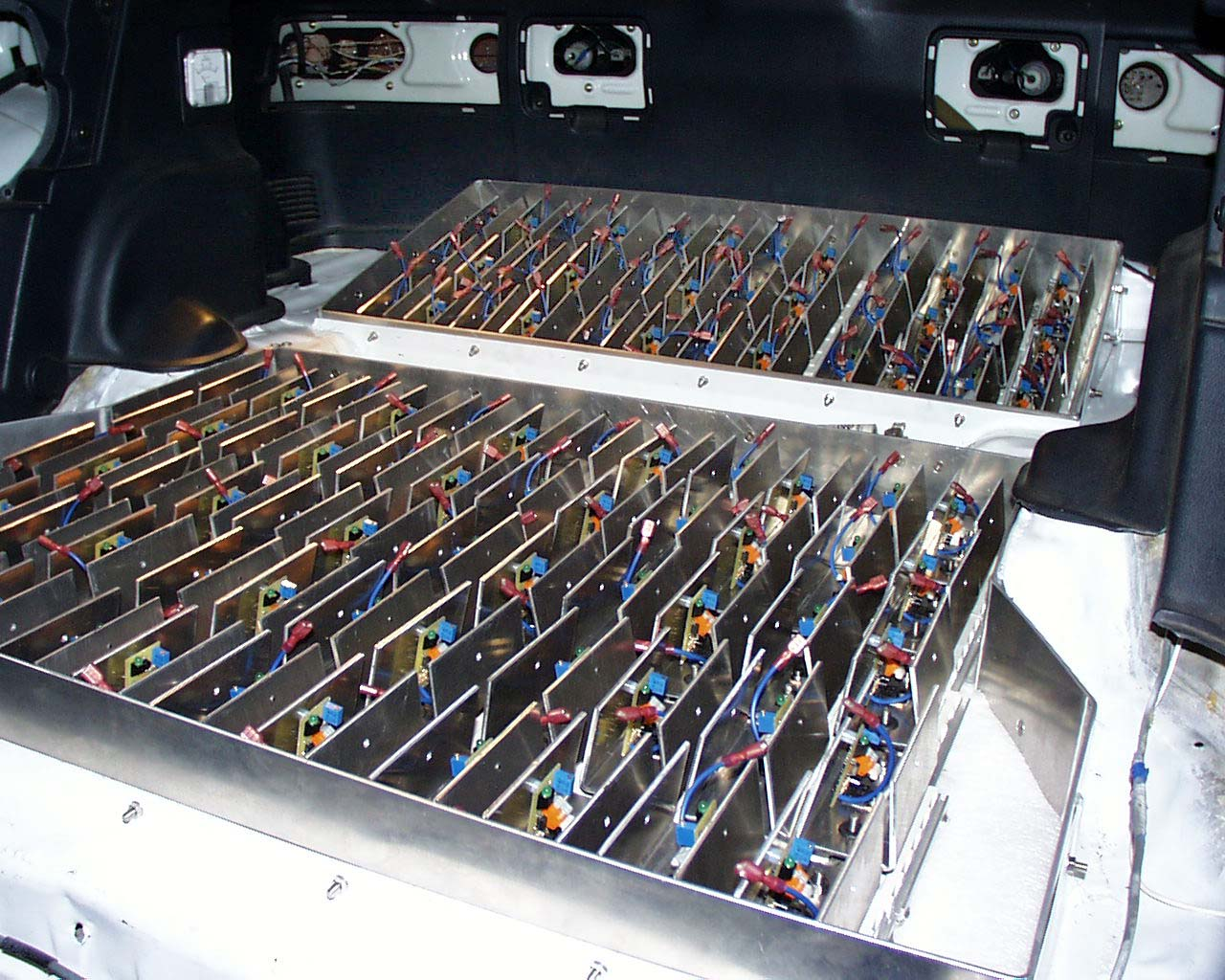 Advanced electric vehicle conversion project - Battery management system